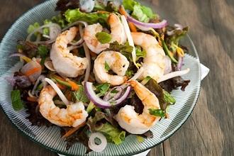 Salad Tôm kiểu Thái