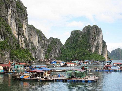 Khám phá không gian sống của làng chài Hạ Long