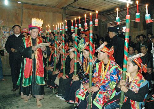 Lễ cấp sắc- lễ hội đặc trưng của người Dao ở Hà Giang