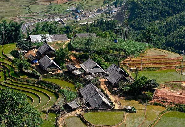 Thị trấn Tả Van - Sapa