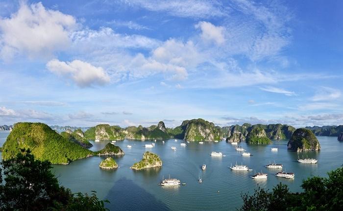 Toàn cảnh khu du lịch đảo Tuần Châu