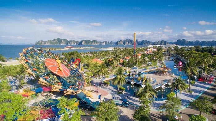 Khu vui chơi giải trí hoành tráng tại trung tâm đảo Tuần Châu