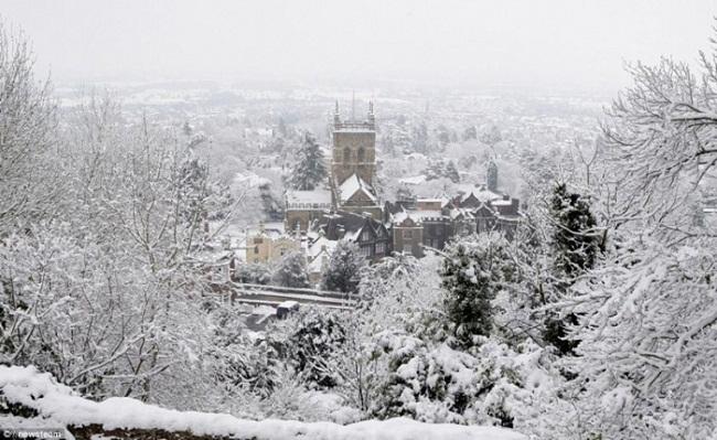 Vẻ đẹp Sapa mùa tuyết rơi